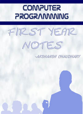 Notes - AKSHANSH CHAUDHARY
